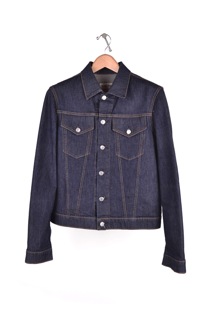 2004 S/S INDIGO ELASTIC DENIM SLIM 2-POCKET JACKET