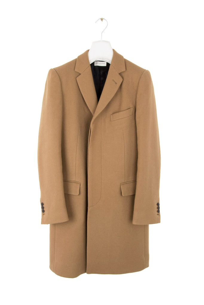2015 A/W CHESTERFIELD RUBEN CAMEL COAT IN VALLEY MILLS WOOL