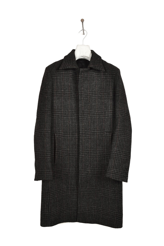1997 A/W HERRINGBONE CHECK MINIMAL COAT