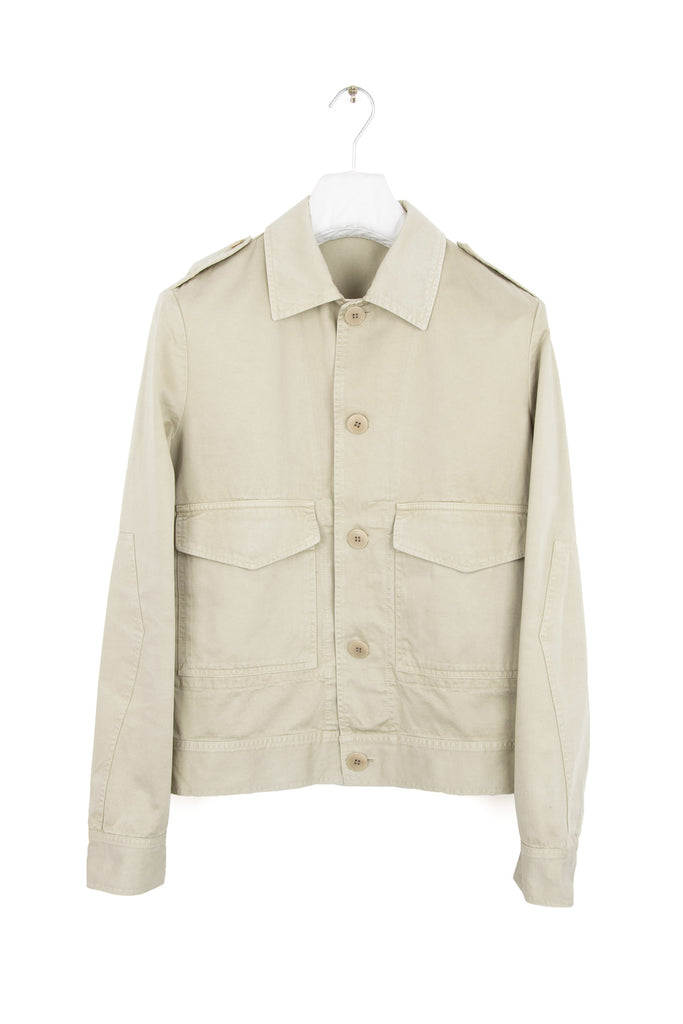 2004 S/S MILITARY COTTON JACKET