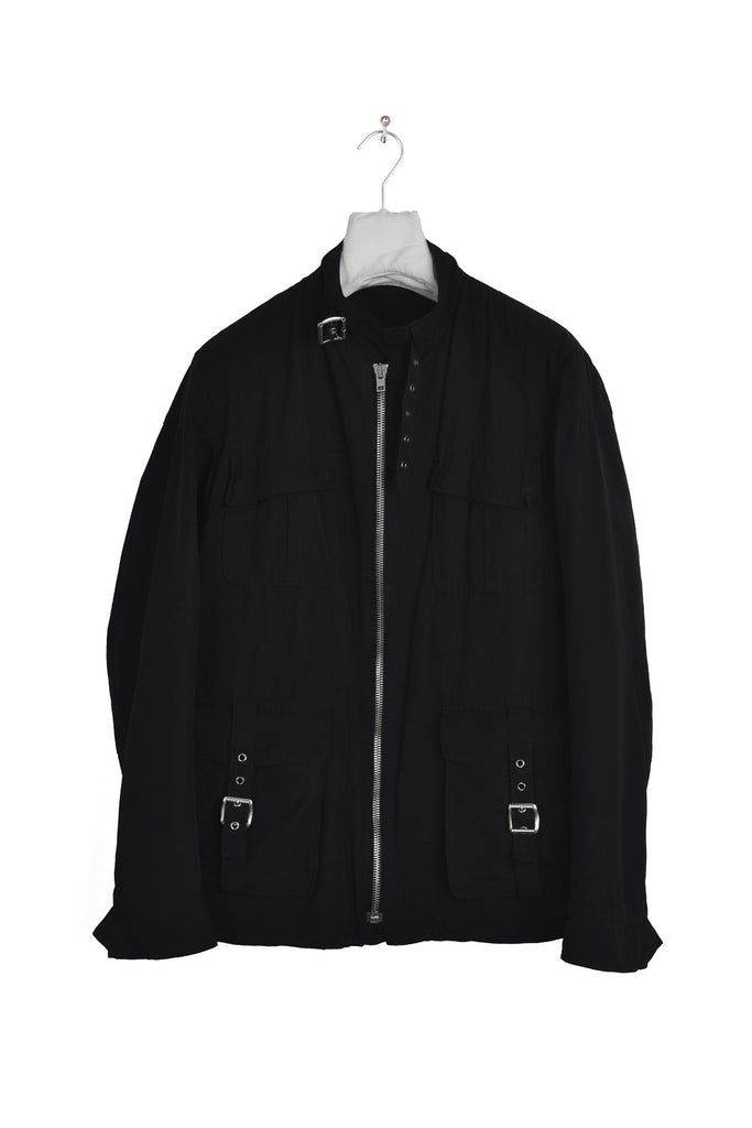 2007 S/S BLACK MILITARY M-65 JACKET