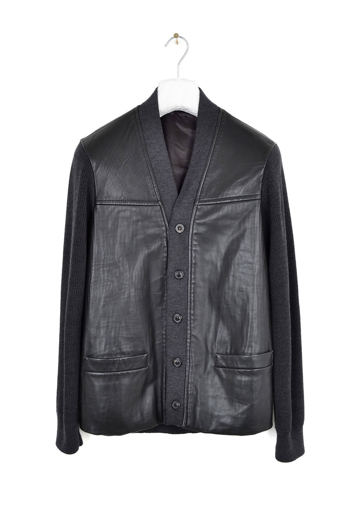 2002 A/W NAPPA LEATHER AND VIRGIN WOOL LINED JACKET