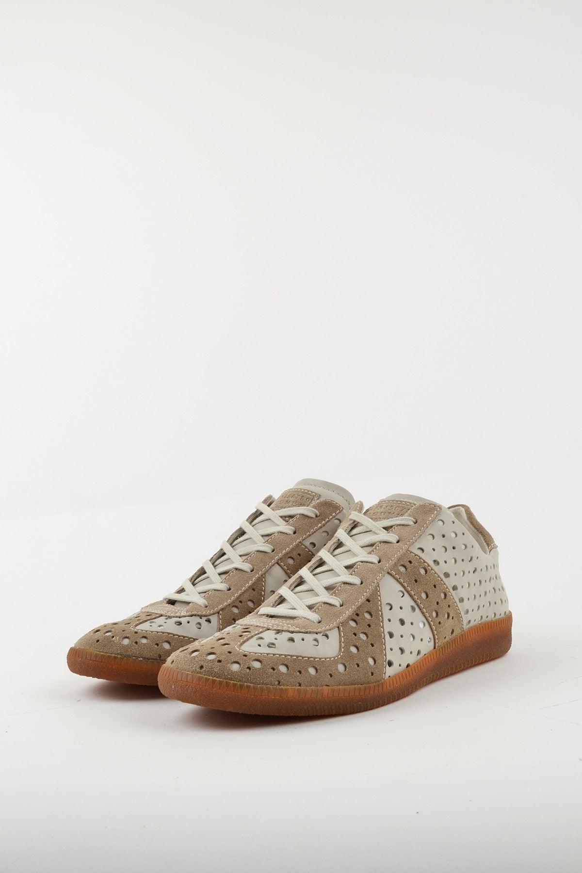 2007 S/S G.A.T. SNEAKERS IN PERFORATED LEATHER