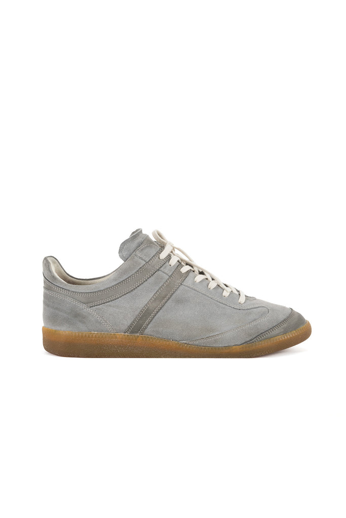 2006 A/W GRAY SUEDE LEATHER  SNEAKERS