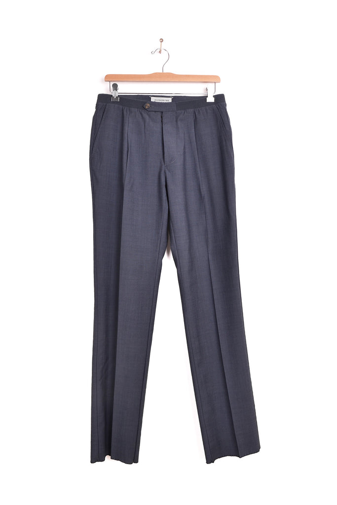 2007 S/S TROPICAL WOOL PANTS WITH ELASTIC WAISTBAND