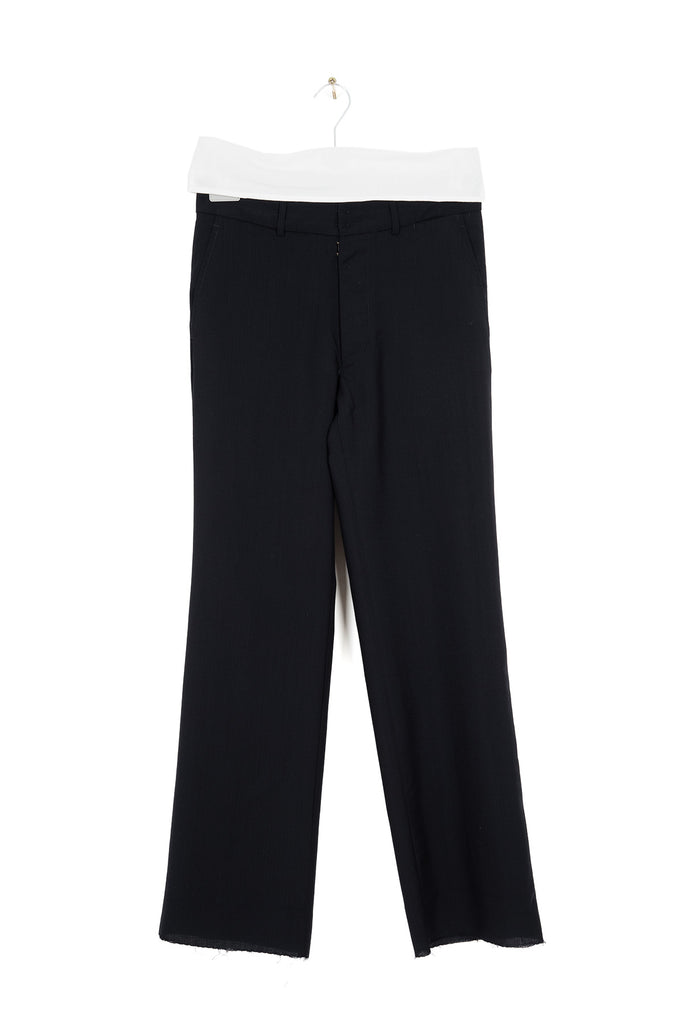 1999 S/S INITIAL ANATOMICAL TROUSERS IN TROPICAL WOOL