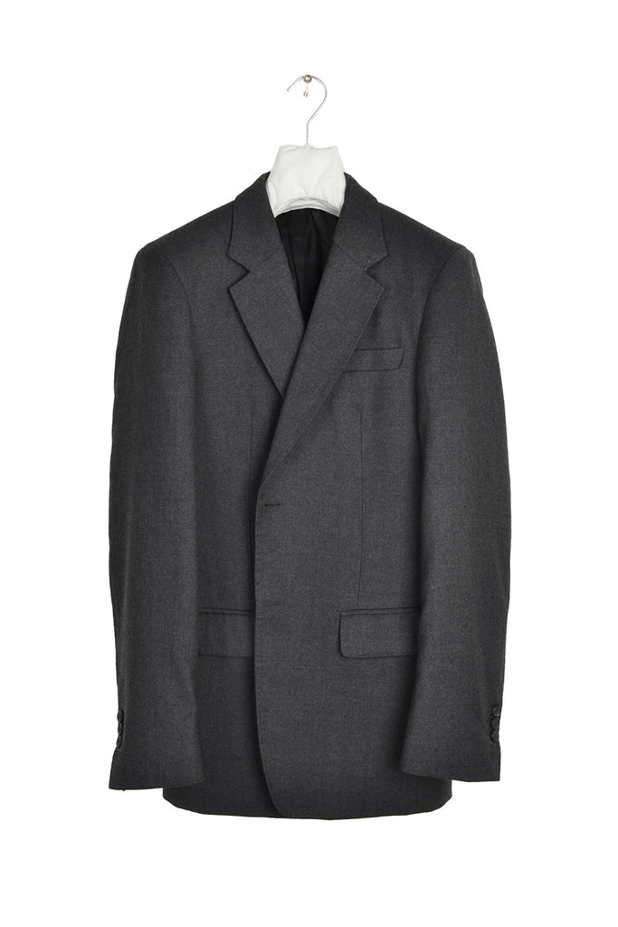 2004 A/W WOOL AND CASHMERE BLAZER WITH FRYED COLLAR