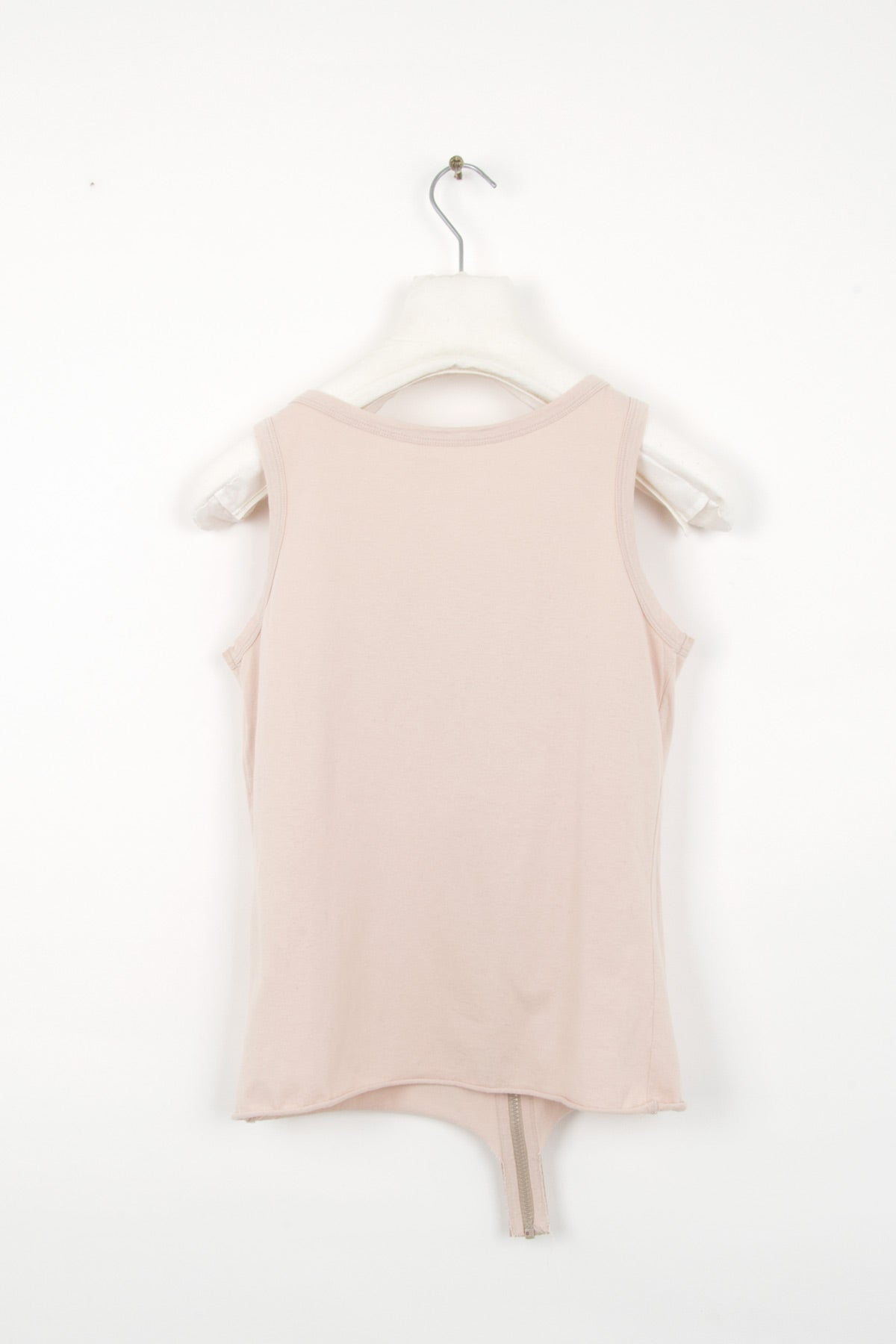 2003 S/S TOP WITH FRONT ZIPPER IN COTTON