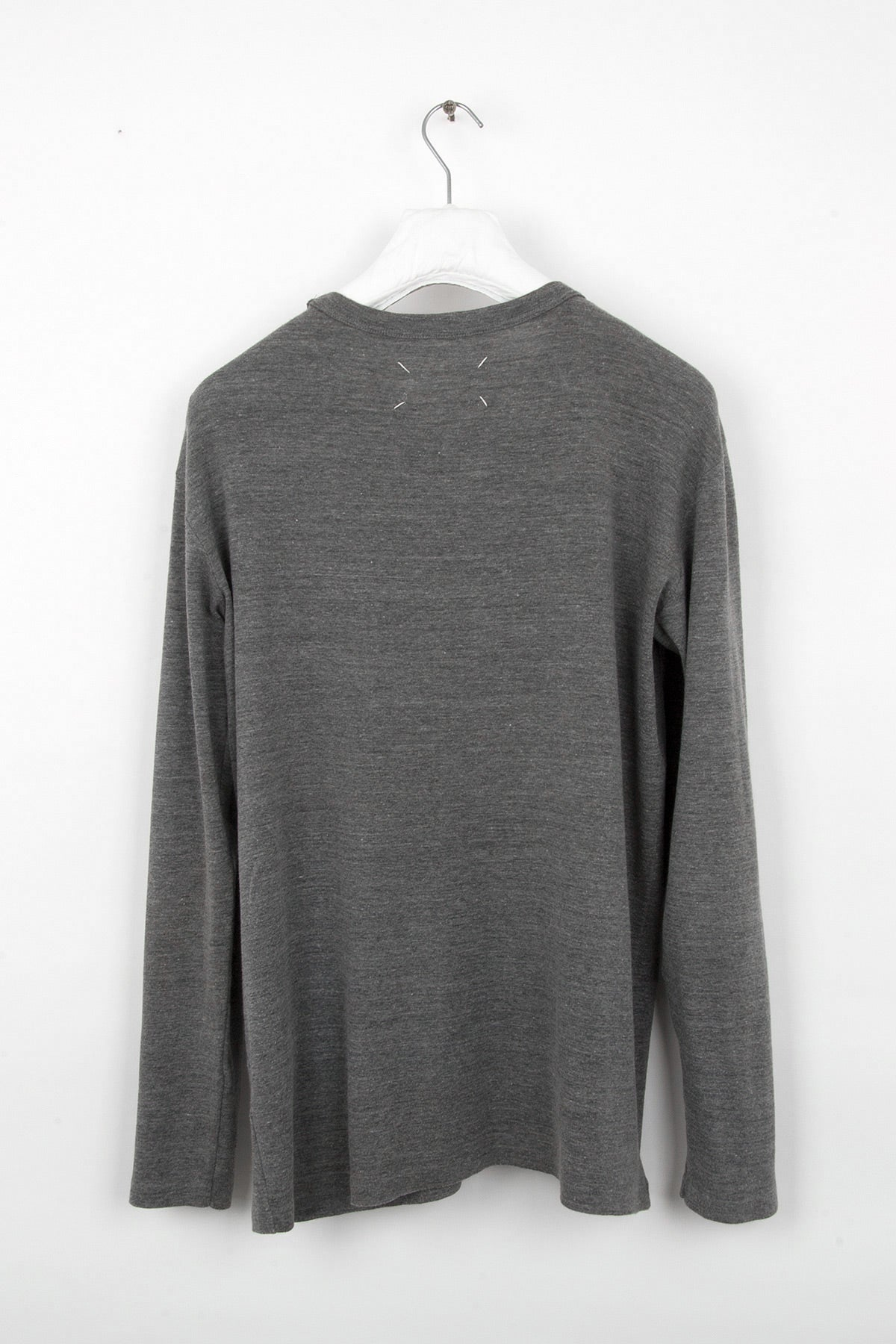 2000 A/W CREWNECK WITH FRONT SEAMING DETAIL IN WOOL AND COTTON BY MISS DEANNA