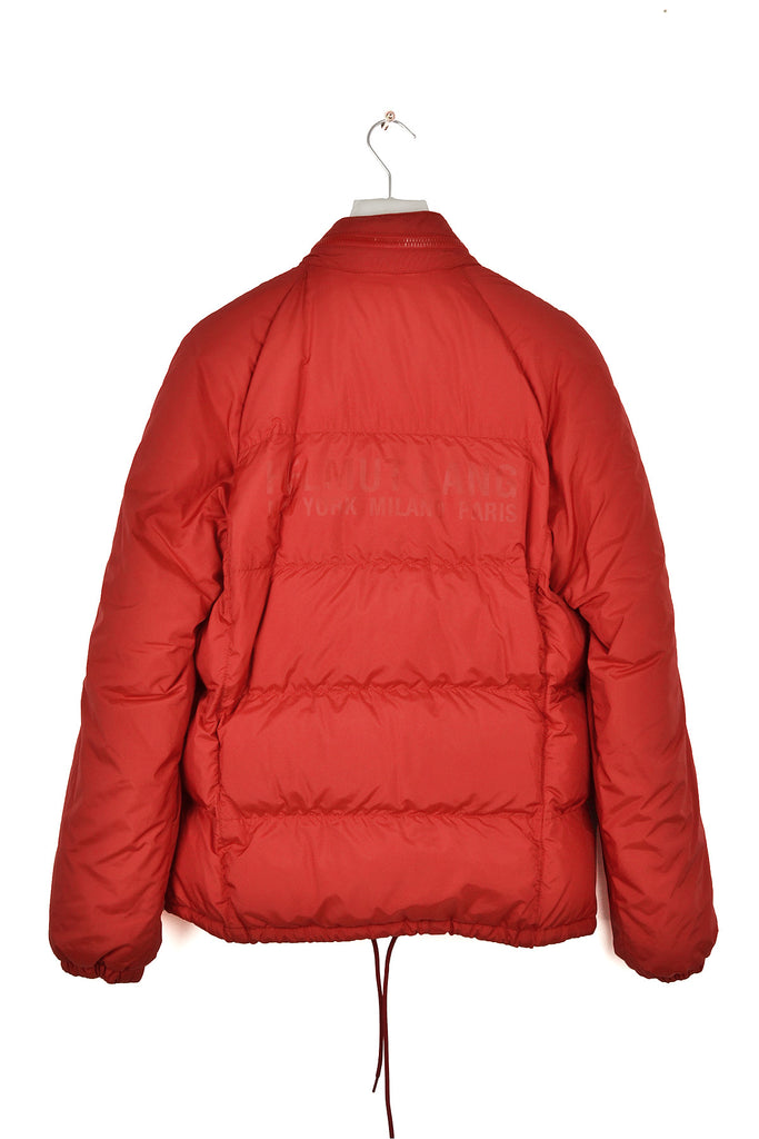 "2004 A/W DOWN JACKET WITH ""HELMUT LANG"" LOGO PRINT"