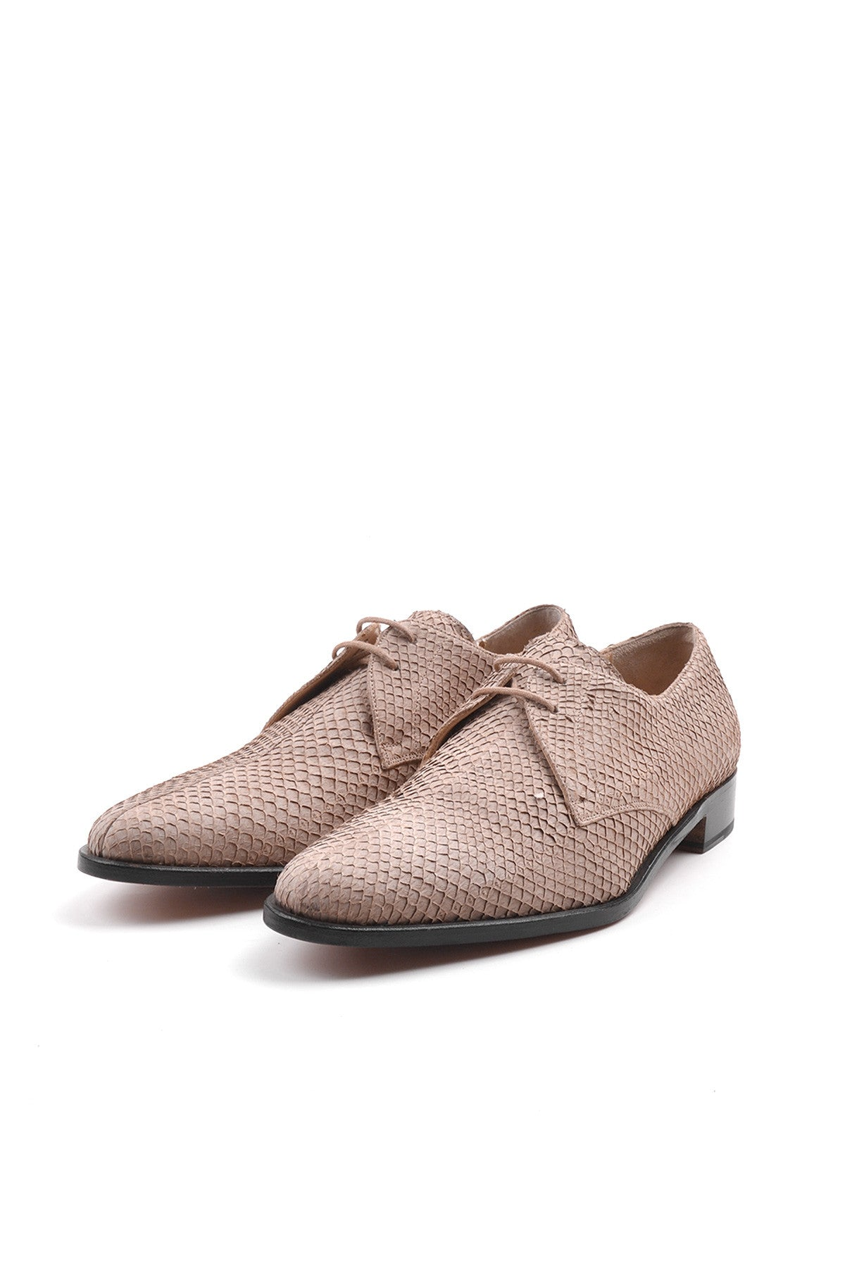 2002 S/S DERBY SHOES IN PERCH LEATHER