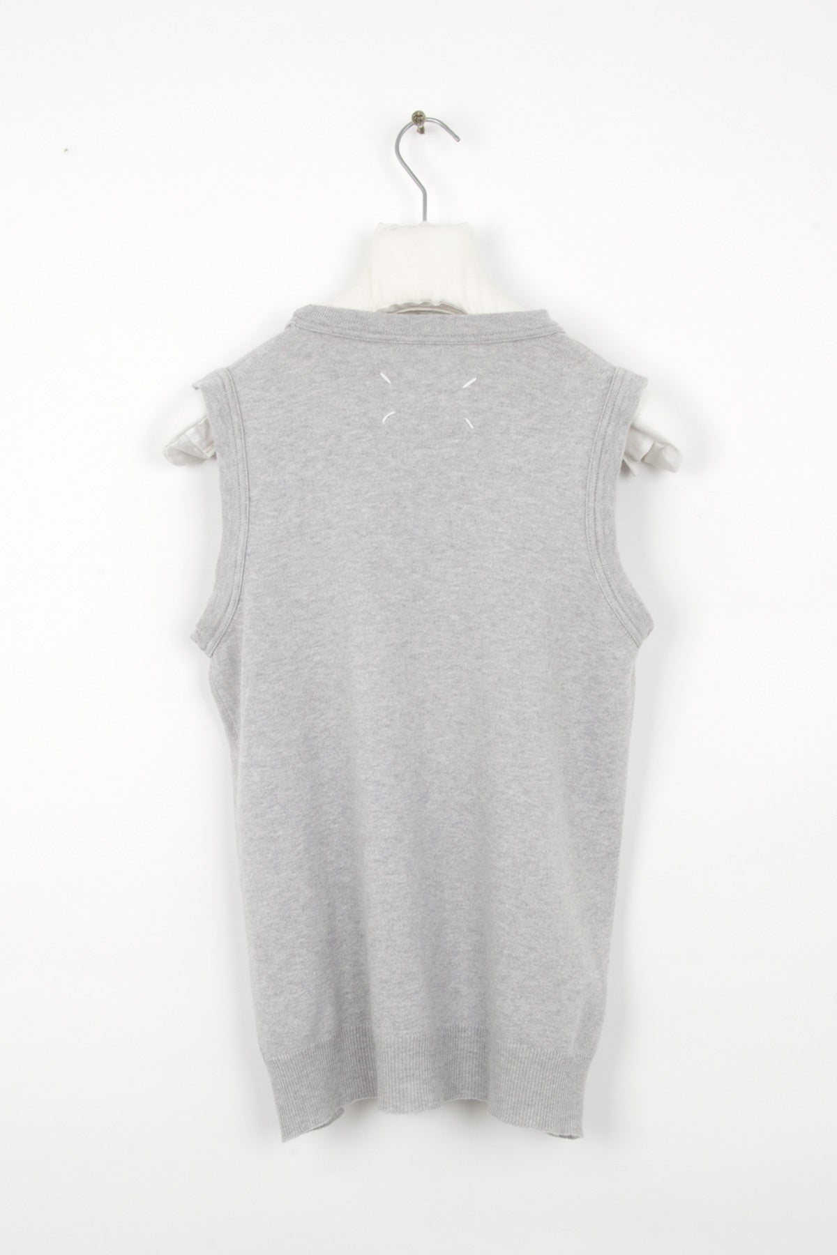 "2003 S/S KNITTED ""TANK-TOP"" VEST IN COTTON BY MISS DEANNA"