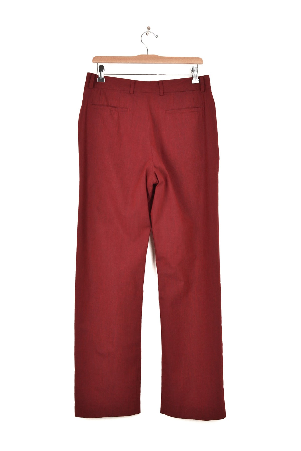 2003 S/S ANATOMICAL TROUSERS IN TEXTURED COTTON