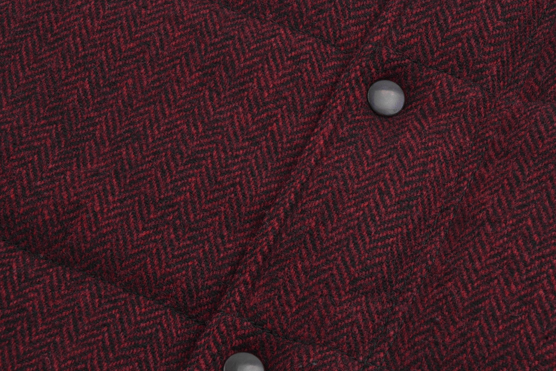 2007 A/W PADDED BOMBER VEST IN HERRINGBONE TWEED