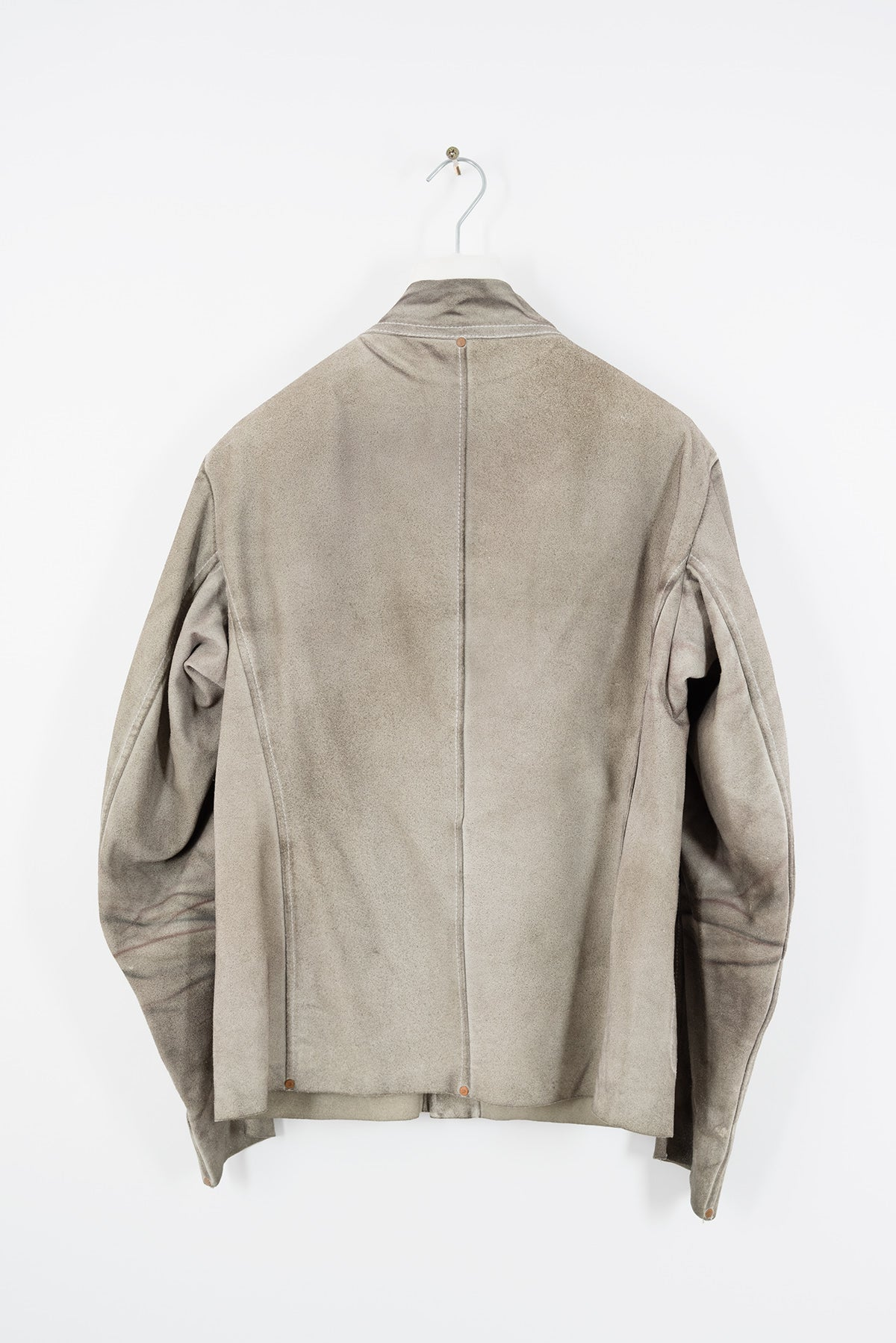 2003 S/S NATURAL COLOURED AGED SUEDE ANATOMIC JACKET