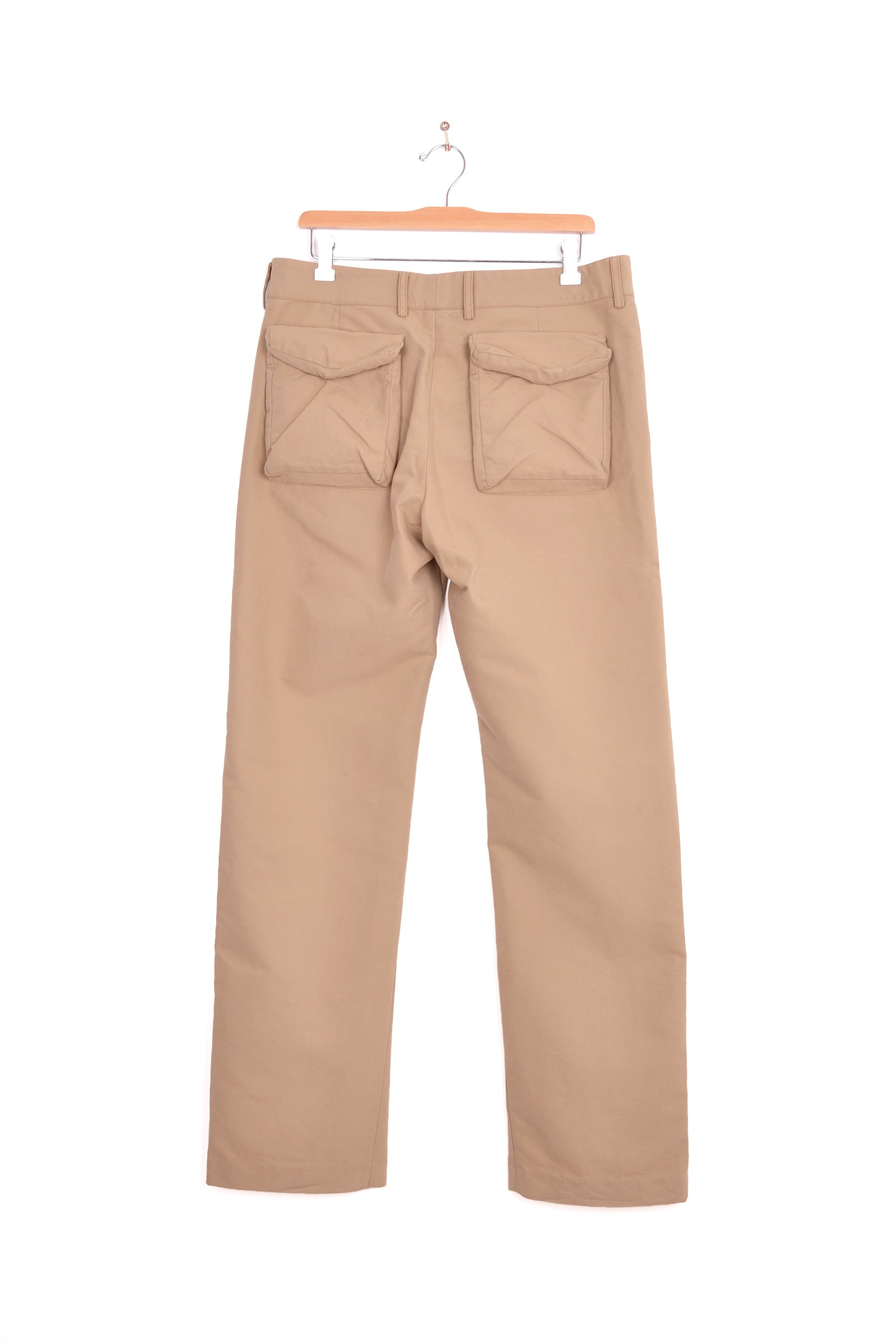 2006 A/W COTTON TROUSERS WITH 3-D MILITARY DETAILS