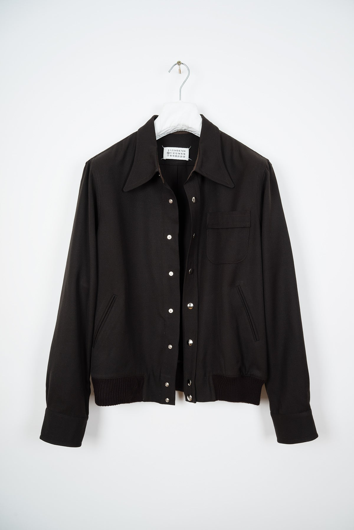 2001 S/S TWILL WOOL BLOUSON WITH EMPHASIZED COLLAR