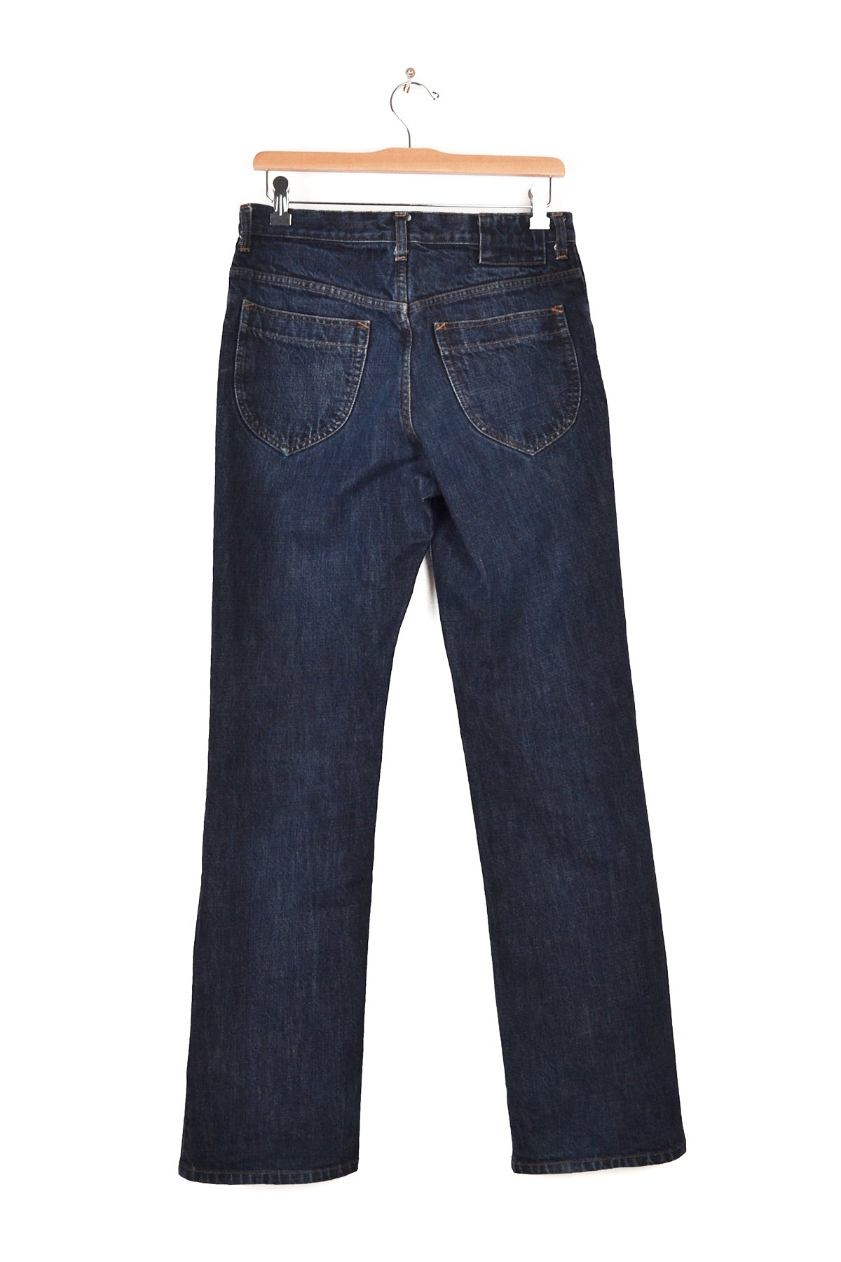 2000 A/W 5-POCKET TROUSERS IN WASHED DENIM