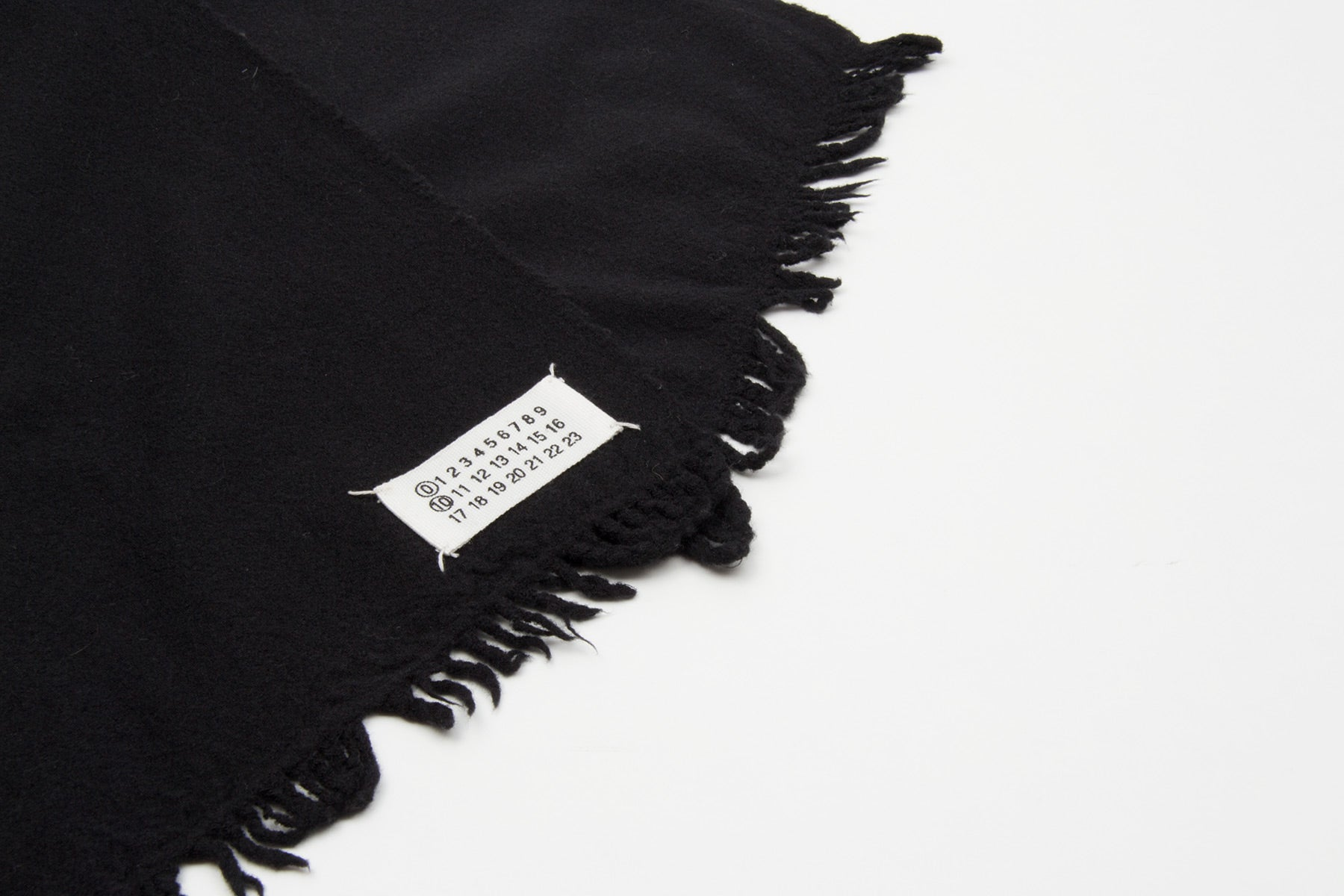 2003 A/W ARTISANAL SCARF IN BOILED WOOL