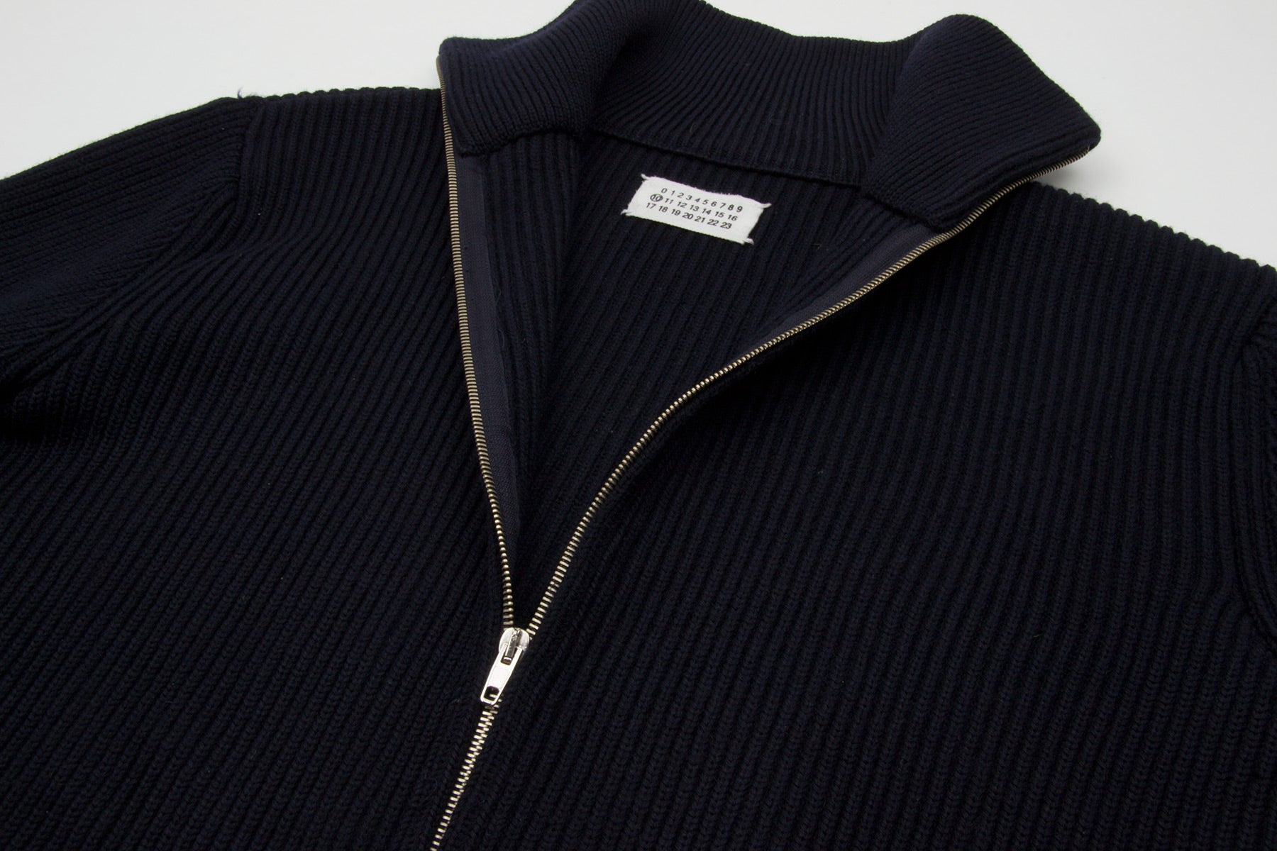 "2003 A/W DRIVER'S ZIPPED SWEATER ""CAMIONNEUR"" BY MISS DEANNA"