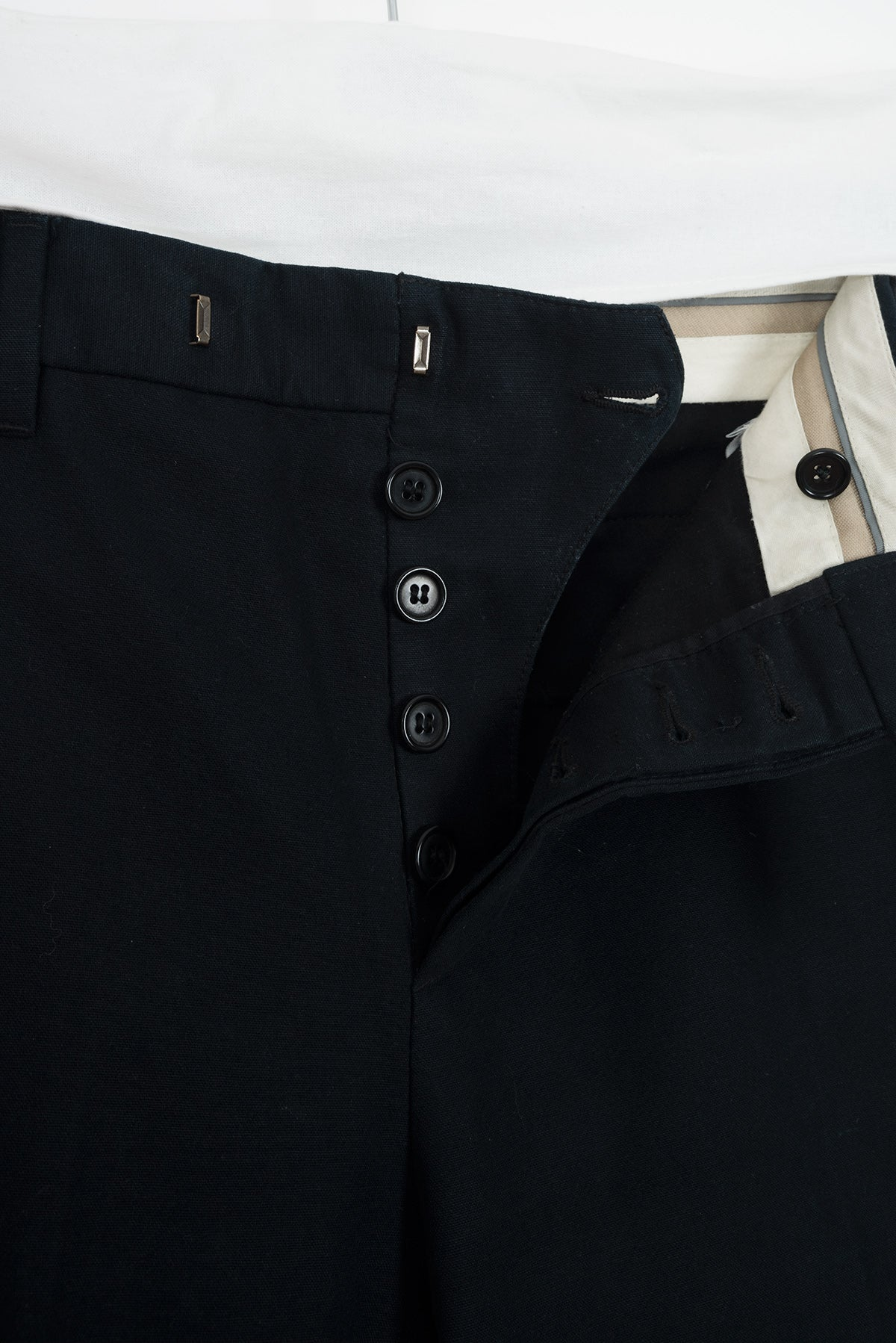 2004 A/W SLIM CUT COTTON TROUSERS