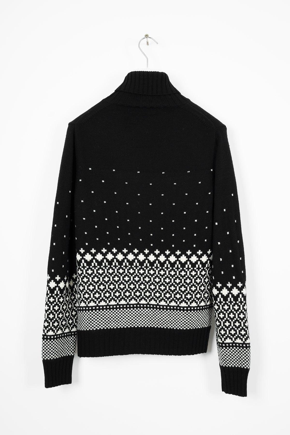 2007 A/W INTARSIA HIGHNECK WOOL SWEATER