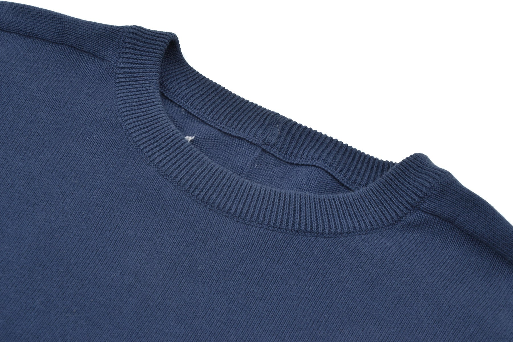 2007 S/S COTTON REPLICA JUMPER WITH ELBOW SUEDE PATCHES