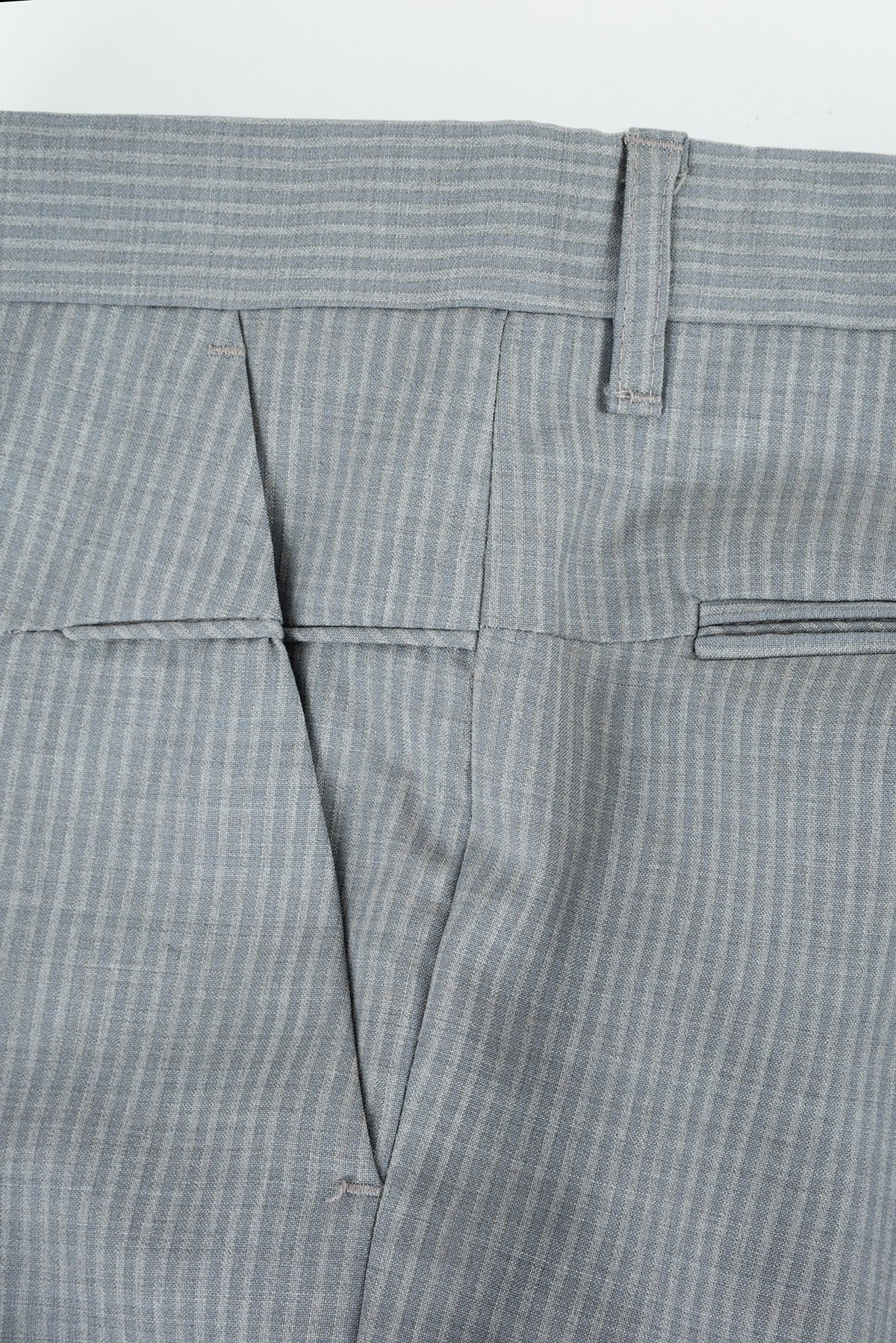 2008 S/S TROPICAL WOOL WIDE CUT TROUSERS WITH POCKET DETAILS