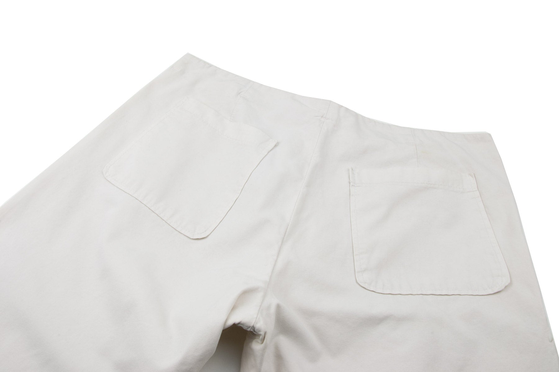 2006 S/S MCQUEEN ANATOMICAL PANTS IN COTTON WITH SILESIA POCKET