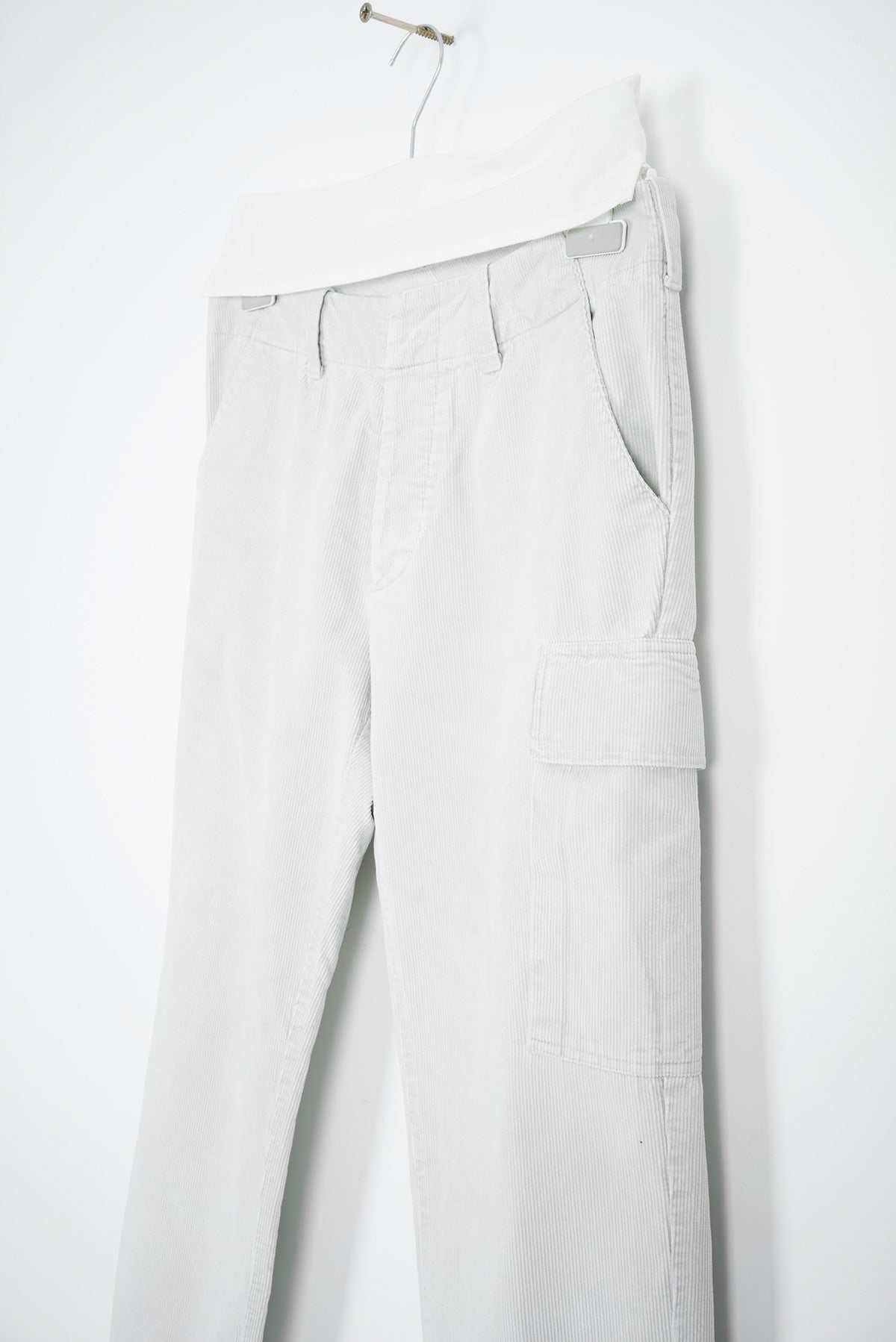 1998 A/W CORDUROY PANTS WITH CARGO POCKET