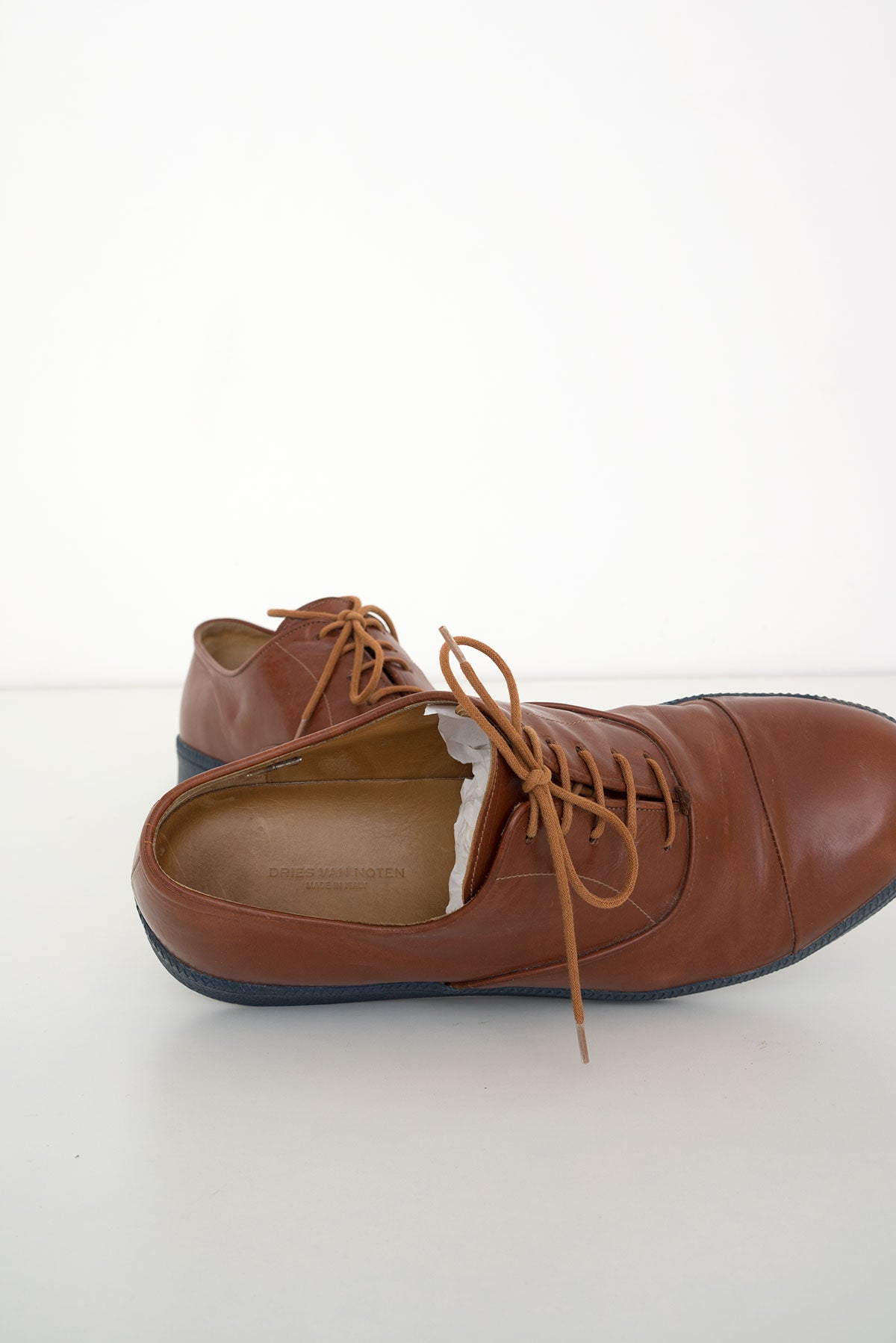 2008 A/W CONTRASTING SOLE DERBY SNEAKERS
