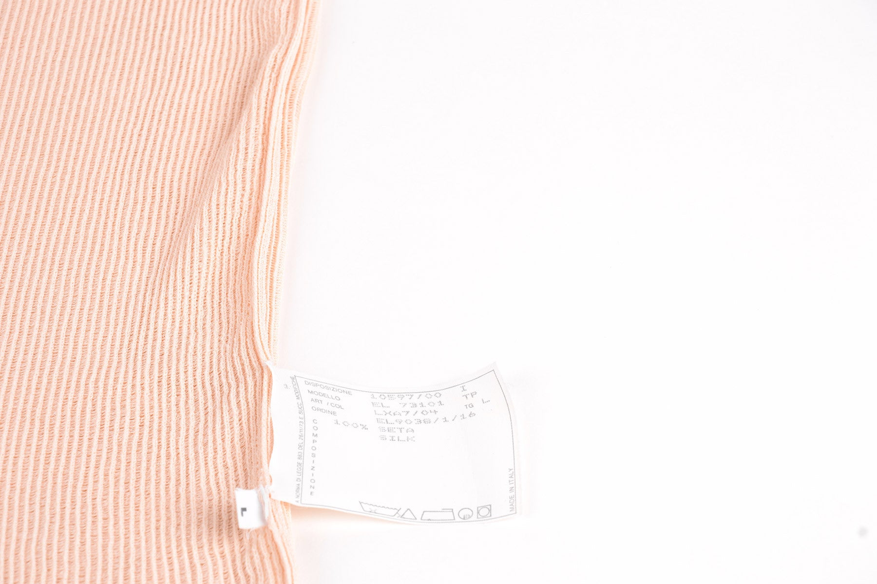 1998 S/S SEMI SHEER SILK SLEEVELEES TOP