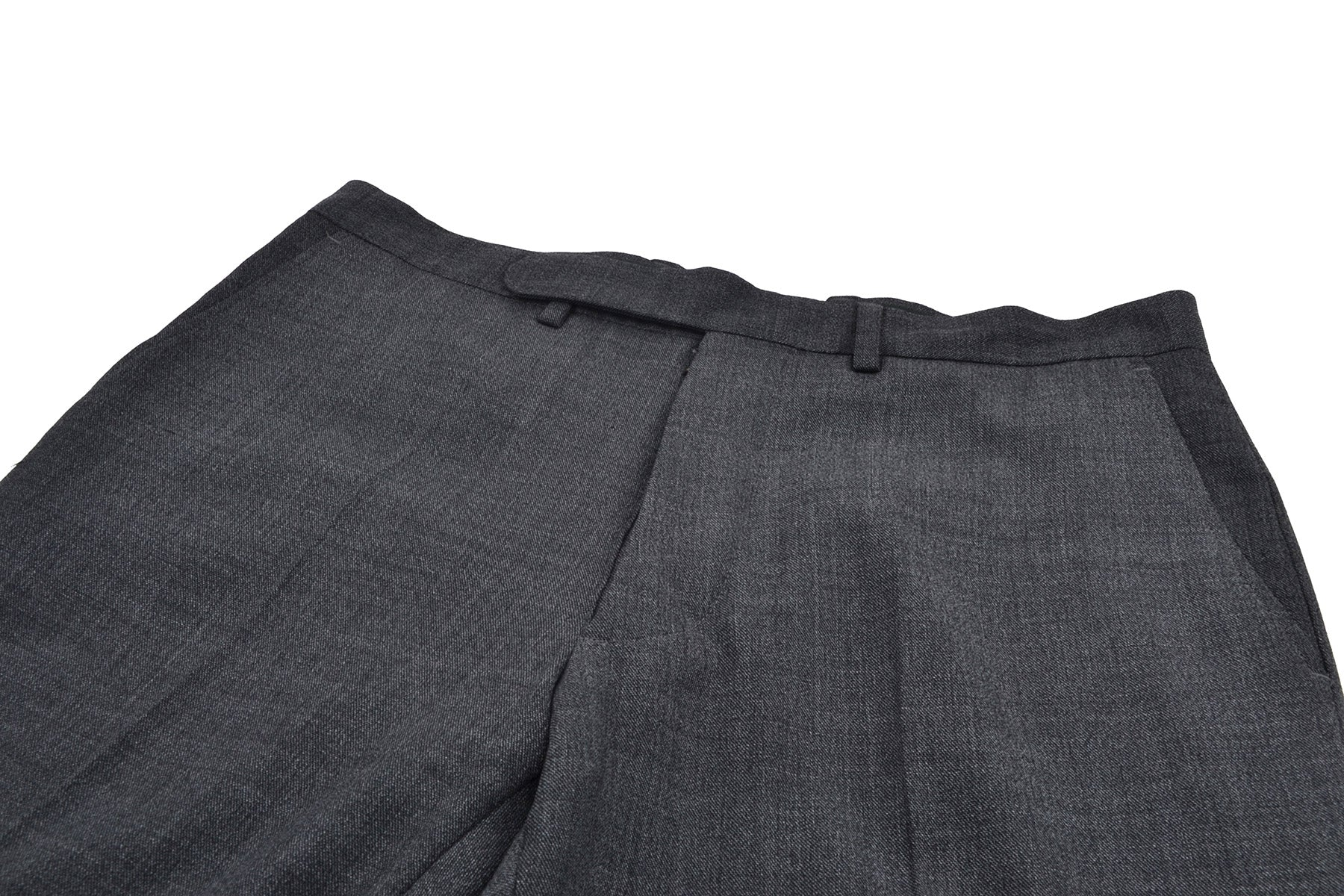 2002 A/W ANATOMICAL PANTS IN DARK STRETCH WOOL