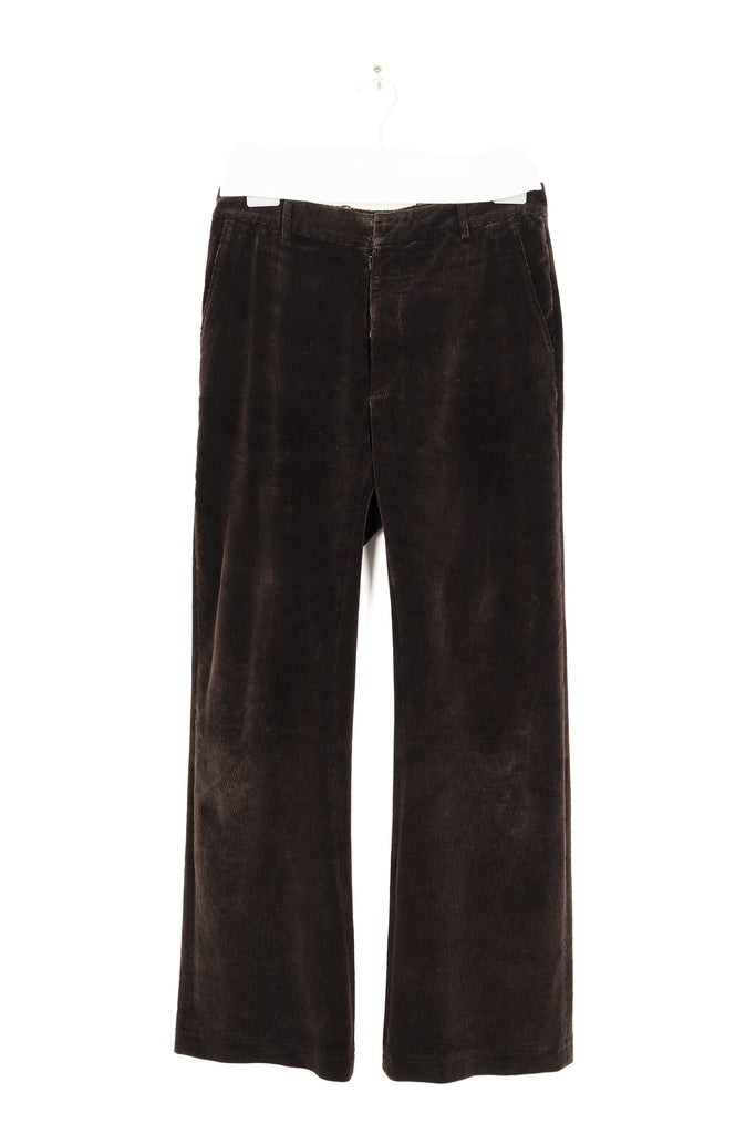 2000 A/W ANATOMICAL TROUSERS IN CORDUROY