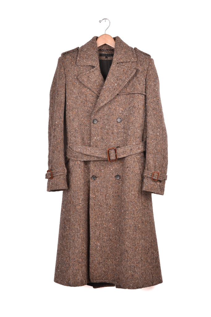 2005 A/W TWEED TRENCH-COAT