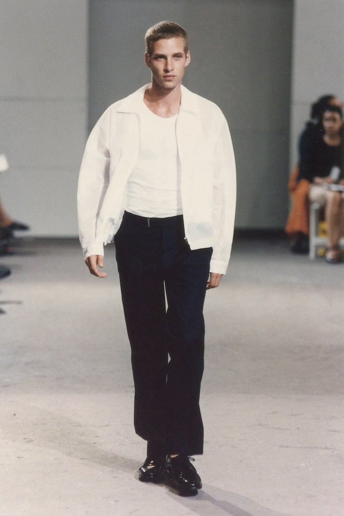 1999 A/W COTTON BLOUSON WITH FRONT CHEST POCKET