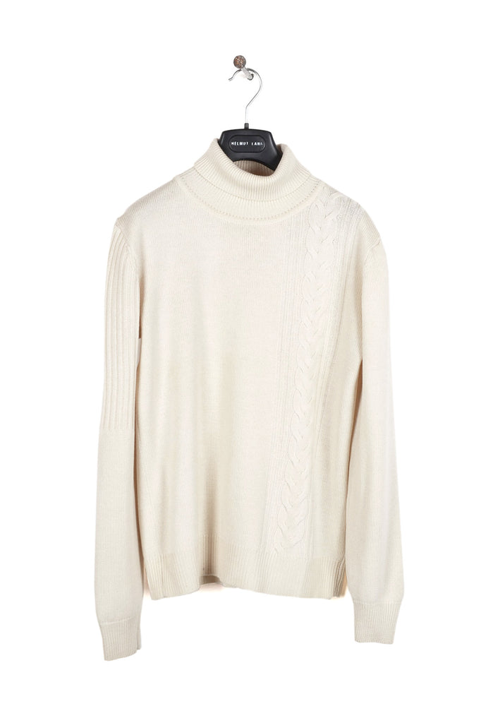 2003 A/W CREAM CABLE KNIT IN FINEST MERINO WOOL