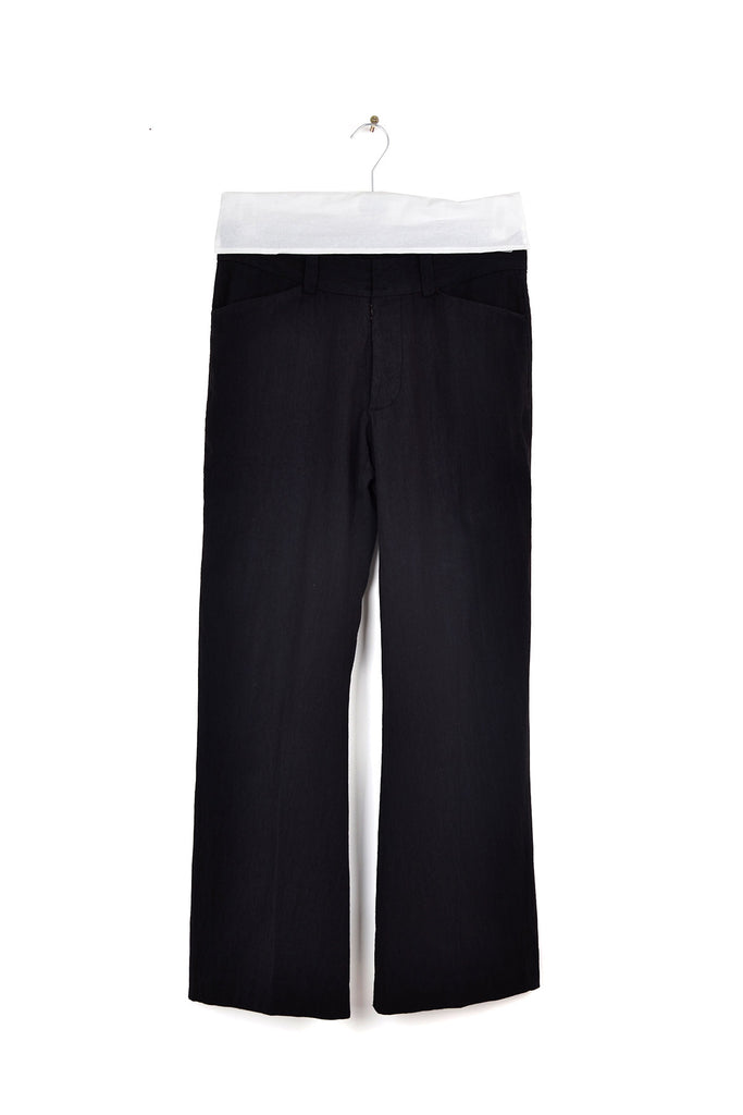 2004 A/W FLARED TROUSERS IRONED TO THE KNEE