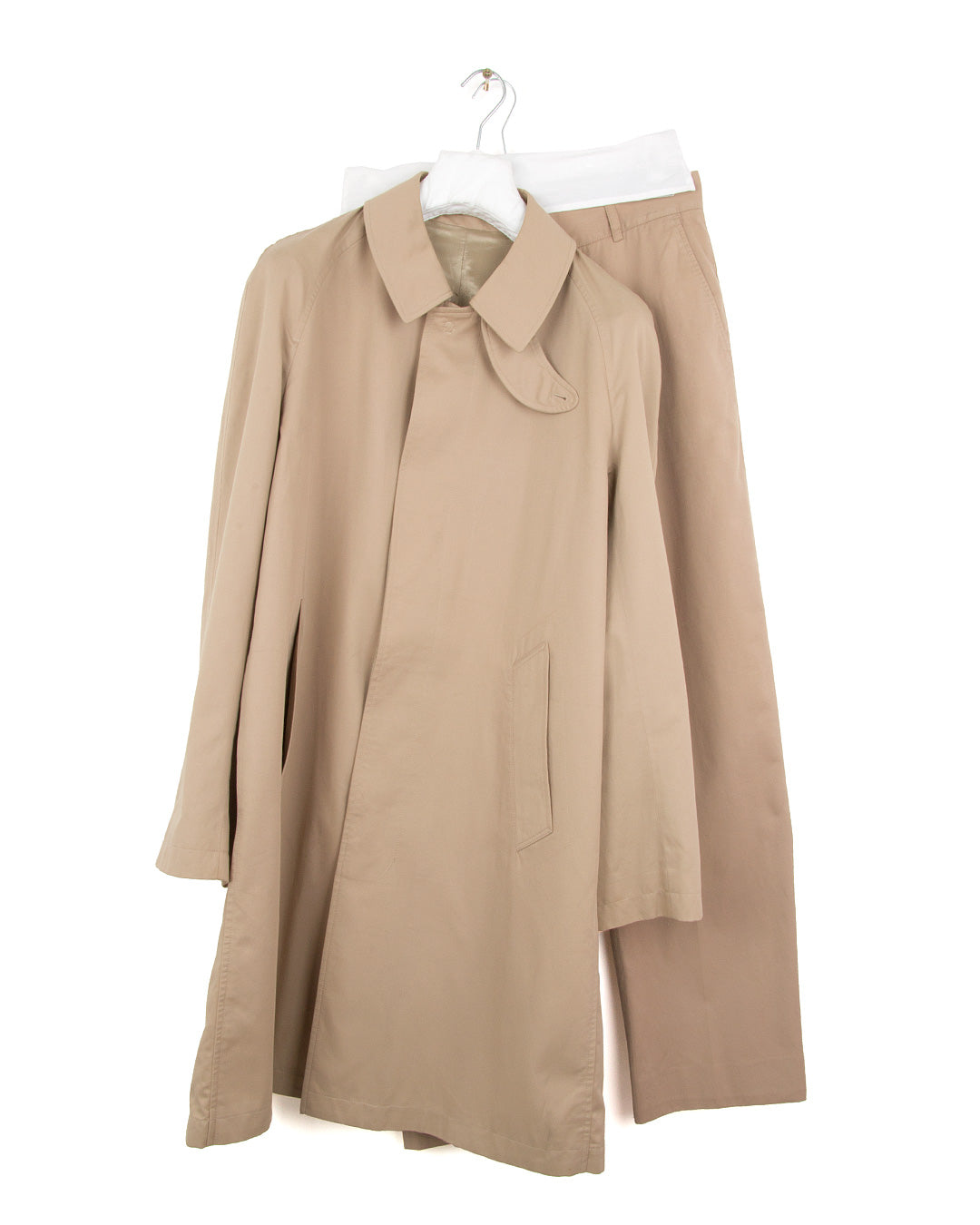 2003 S/S BAL COLLAR MAC COAT IN TWILL COTTON