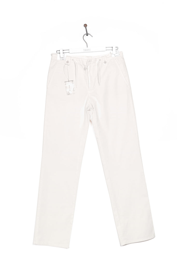 2000 S/S DRAWSTRING WAIST CHINO TROUSERS