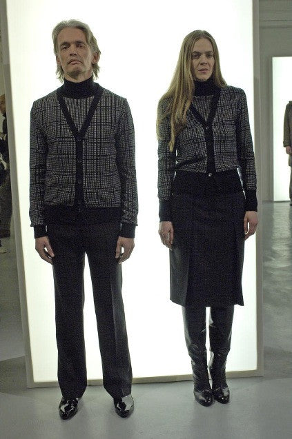 2006 A/W COMPLICE WOOL TWO-TONE TURTLENECK