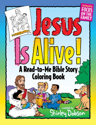 jesus is alive coloring book gospel light