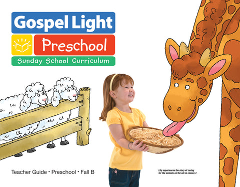 Teacher's Guide - Preschool Ages 2-3 - Fall Year B | Gospel Light