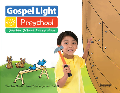 Teacher's Guide - Pre-K/Kind Ages 4-5 - Fall Year B | Gospel Light