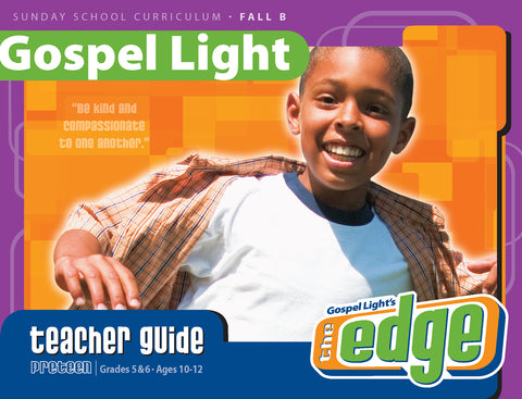 Teacher's Guide - Preteen GR 5-6 - Fall Year B | Gospel Light