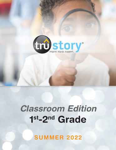 TruStory | Grades 1-2 Classroom Edition Quarterly Kit (Up to 50 Students) | Spring 2021