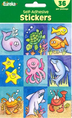 Scripture Press Marine Life Stickers (4s & 5s)