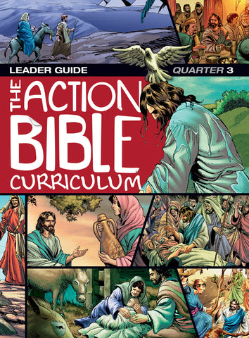 Action Bible Curriculum Leader Guide Q3 Spring 2018 Cover