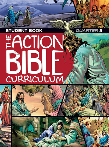 Action Bible Curriculum Student Book Q3 Spring 2018 Cover