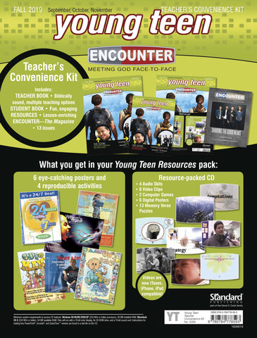 Encounter | Young Teen Teacher's Convenience Kit | Fall 2019